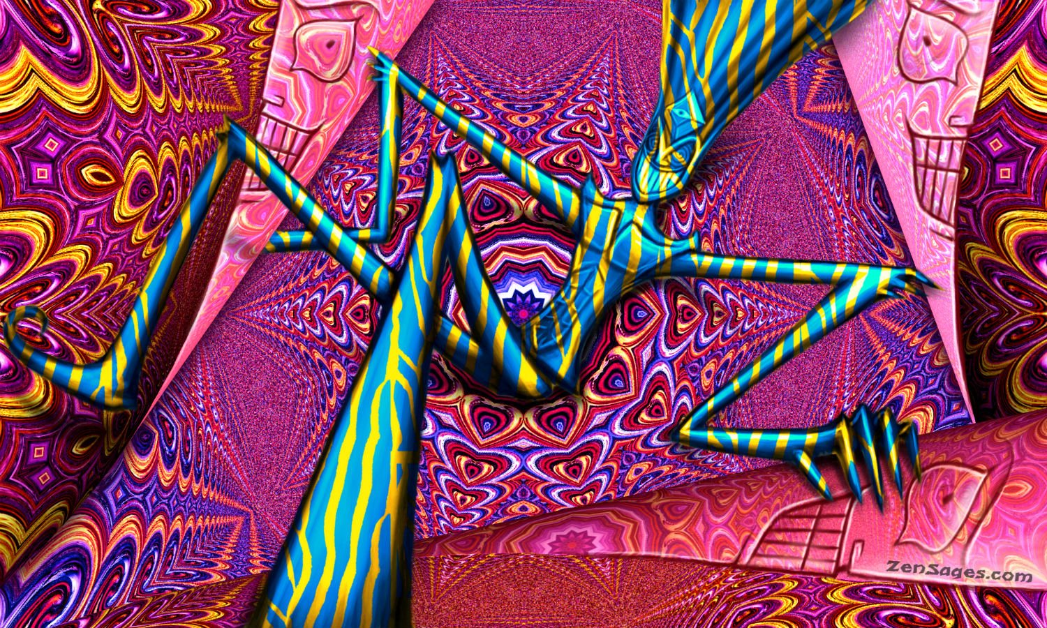 Can A Dmt Trip Start In A Room