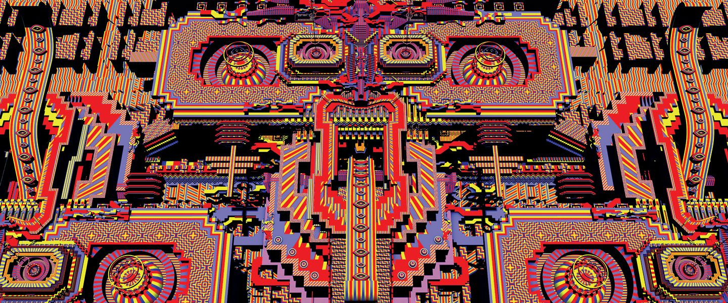 a visual representation of my first DMT trip - First steps ... Dmt Trip Visuals